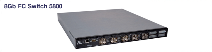 QLogic 5000 Series Switch banner