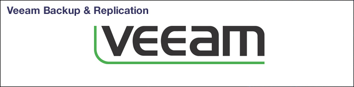 Veeam Backup & Replication banner