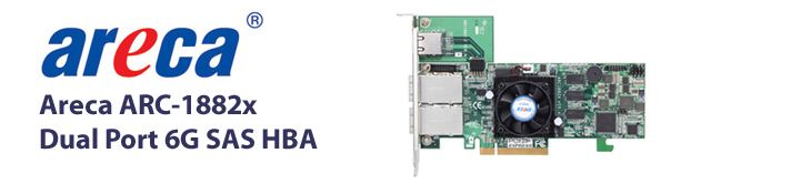 6Gb Dual Port SAS HBA banner