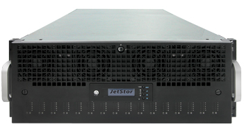 JetStor Storage Dedupe 80 bay