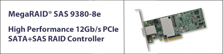 12Gb 8 Port SAS/SATA RAID Controller